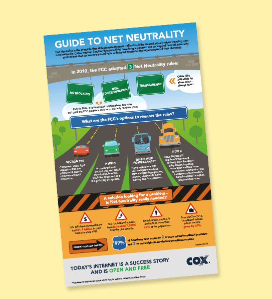 Cox Business takes a stand on net neutrality