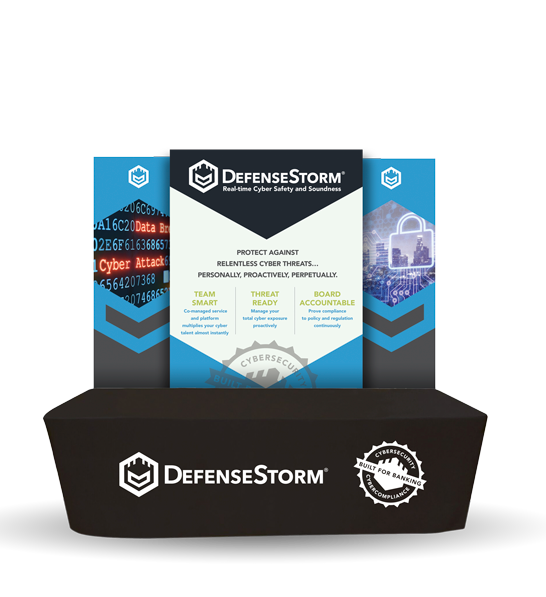DefenseStorm refreshes brand for national trade show appearance.