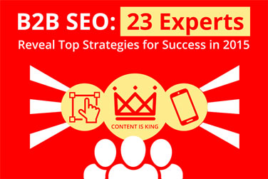 B2B SEO Experts reveal their tricks of the trade - EXPERTS REVEAL STRATEGIES FOR SUCCESS