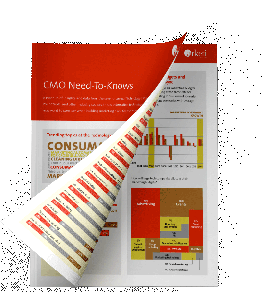Tech CMO Need-to-Knows - Get it now