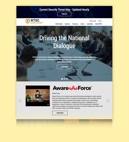Newly launched site drives discussion around technology security infrastructure