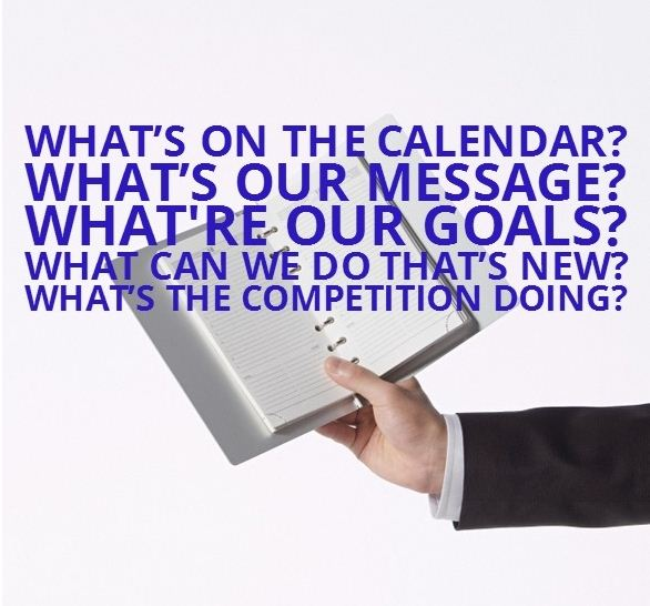 What's on the calendar?