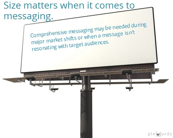 Size matters for messaging