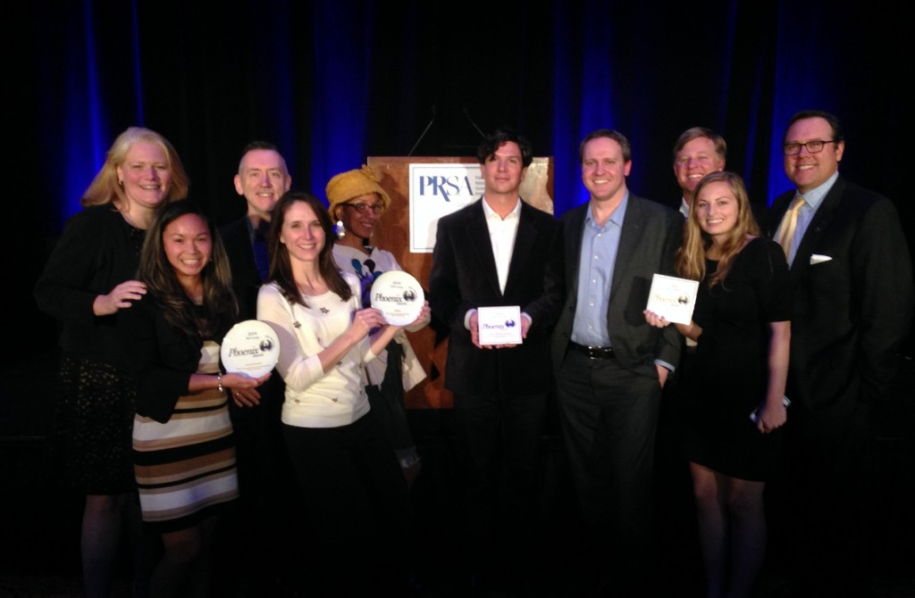 Arketi at 2014 PRSA Phoenix Awards Ceremony