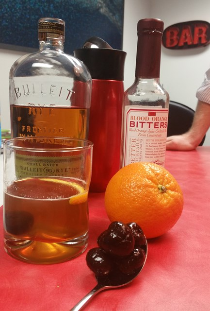 Old Fashioned with Bulleit Rye