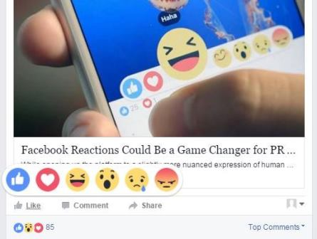 Facebook Reactions, Google Remove Sidebar Ads and more search marketing news