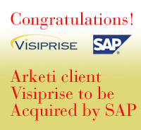 Arketi Client Visiprise  to be acquired by SAP