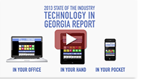 2013 State of the Industry Technology in Georiga Report